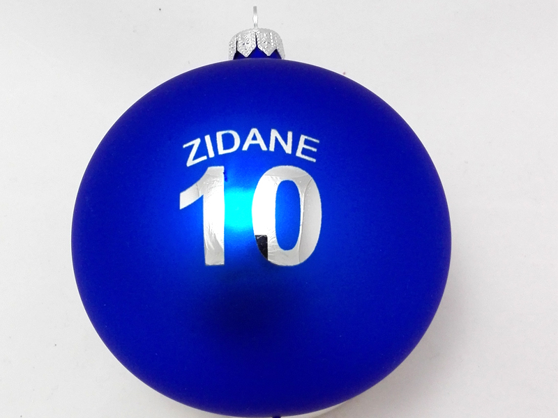 Chrismas ball with logo zidane