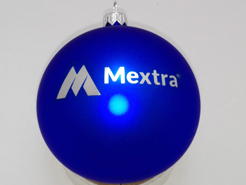 Custom Ornaments with Logos, mextra