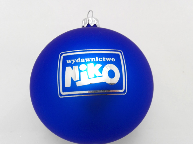 Custom Ornaments with Logos niko