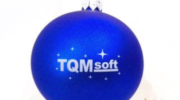 advertising balls TQM soft, Logo Christmas Ornaments