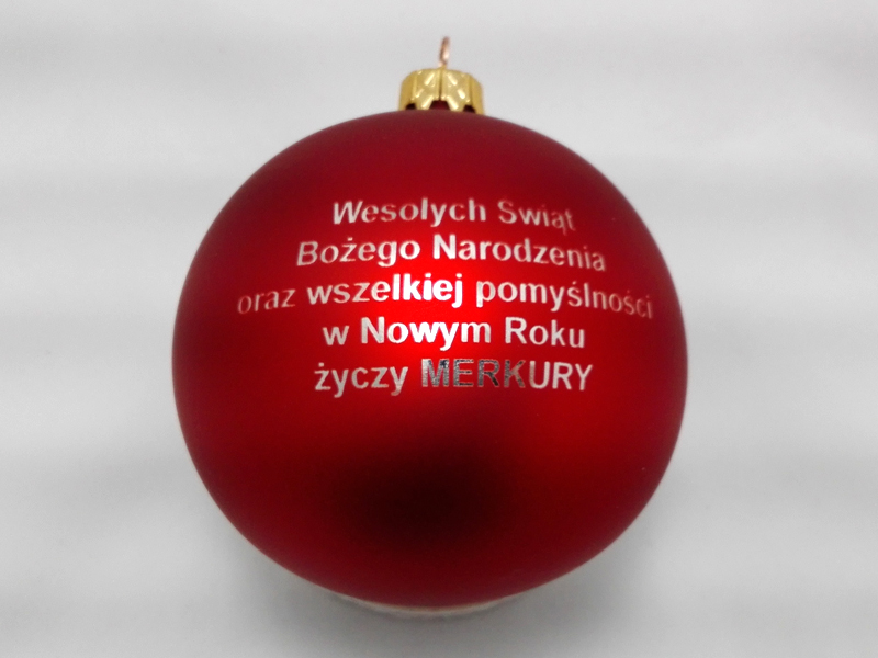 Personalized Christmas Ornaments merkury