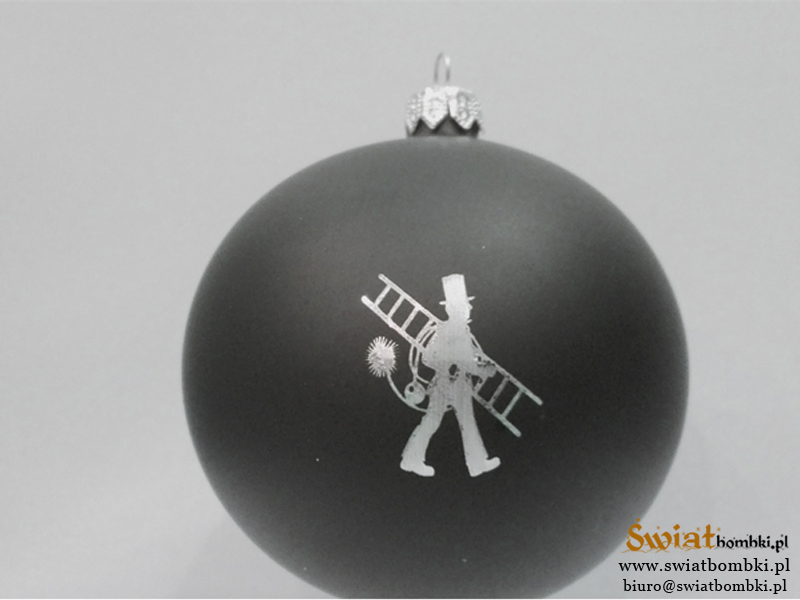 Custom Christmas Ornaments, black