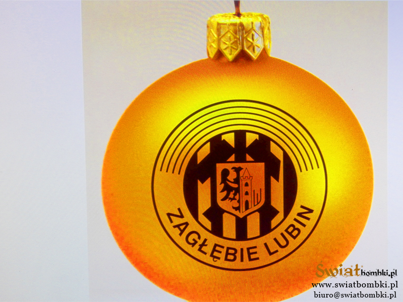 Christmas balls with logo, ZL