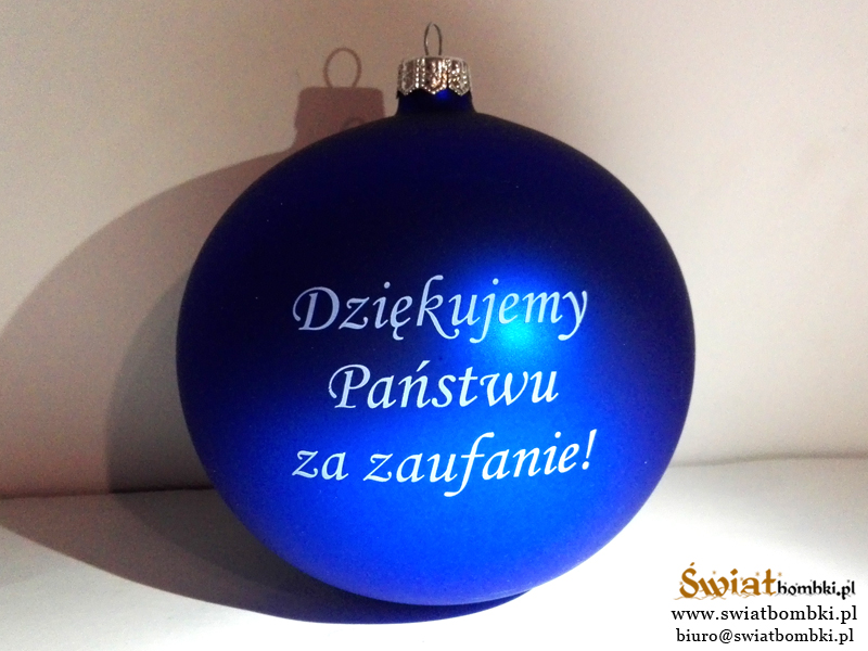 Promotional Ornaments with Logo , text