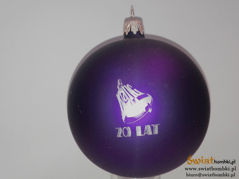 vhristmas balls with logo 20