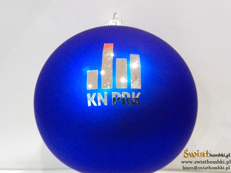 christmas balls with logo Kn PRK