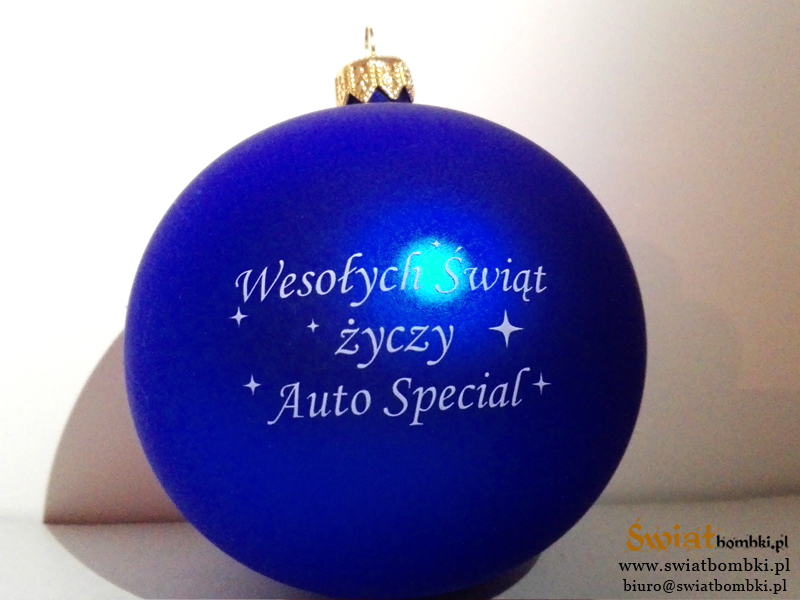 Promotional Ornaments with Logo auto special