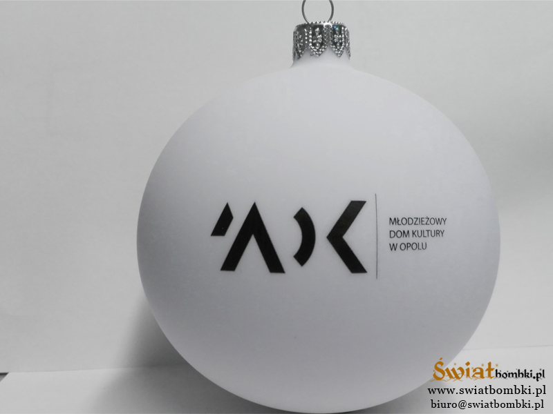 Promotional Ornaments with Logo mdk