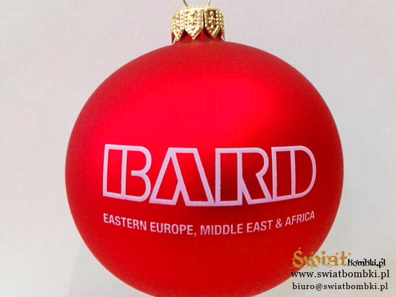 Logo Christmas Ornaments Bard