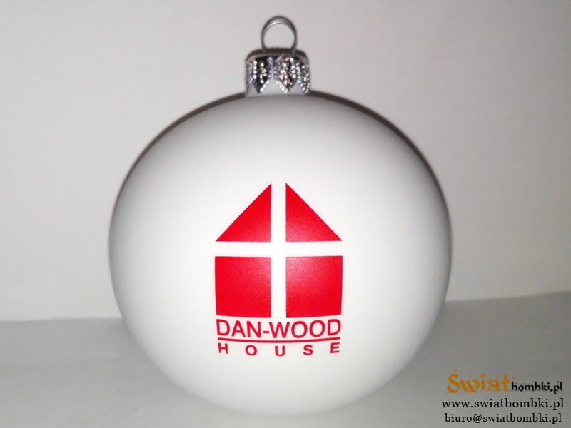 Custom Ornaments with Logos DAN-WOOD