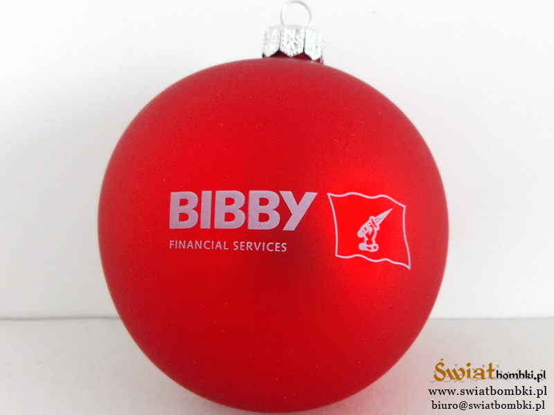 Custom Ornaments with Logos bs deweloper bibby