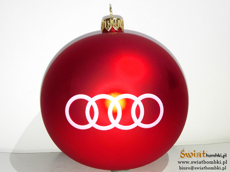 printed balls audi, Promotional Christmas Ornaments
