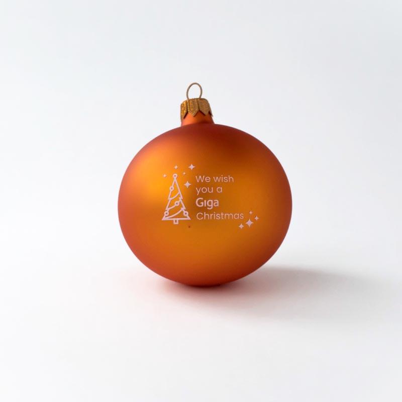 Custom Baubles | Custom Christmas Baubles and Balls Giga