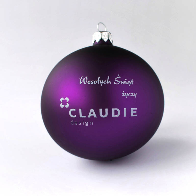 Custom Baubles | Custom Christmas Baubles and Balls Claudie